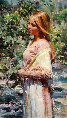 Kai Fine Art is an art website, shows painting and illustration works all over the world. Woman Painting, Figure Painting, Art Magique, Bachelor Of Fine Arts, Muse Art, Oil Portrait, Mystique, Famous Artists, Beautiful Paintings