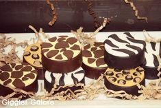 Safari Chocolate Covered Oreos