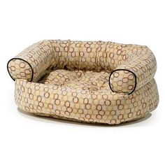 Double Donut Bolster Pet Bed Size Large 42 W x 32 D Color Ebony >>> Visit the image link more details.