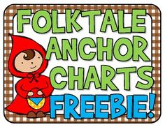 Folktale Anchor Charts FREEBIE This is a great freebie from teachers pay teachers. There are free posters to put in the classroom with definitions of various genres of books including fairy tales and folktales. Kindergarten Anchor Charts, Reading Anchor Charts, Kindergarten Reading, Teaching Reading, Guided Reading, Learning, Reading Lessons, Reading Activities, Reading Skills
