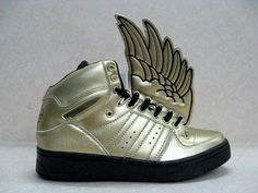low priced 2ee01 6f1fb Adidas Angel Js Wings shoes gold