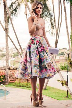 Top + skirt