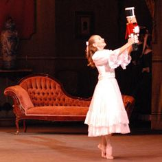 A scene from The Nutcracker, the first ballet I saw in the theatre and the soundtrack every single Christmas.