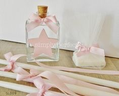 Σετ λαδιού με θέμα το αστέρι: ΚΩΔ SL009 Baptism Favors, Baptism Ideas, Ballet Shoes, Dance Shoes, Handmade Baby, Christening, Wedding Designs, Baby Shower, Candles