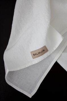 homevialaura | Balmuir | white linen kitchen towel