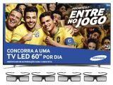 """Smart TV Slim LED 3D 46"""" Samsung UN46F8000 Full HD"""