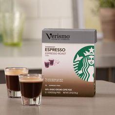 Starbucks Verismo Espresso Roast Espresso Pods - http://thecoffeepod.biz/starbucks-verismo-espresso-roast-espresso-pods-2/