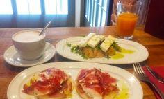 Nuestra colaboradora Mar Romero comparte 3 de sus desayunos de cuchillo y tenedor preferidos de la ciudad de Madrid.