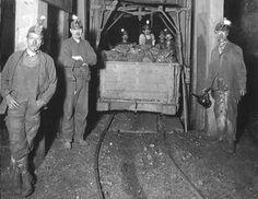 West Virginia Coal Mines 1940s Barnesville Mine