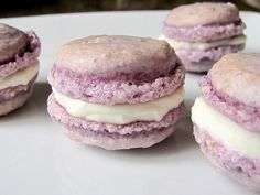 Ube Macarons by OggiG, via Flickr