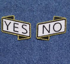 'Yes/No' Patch Set