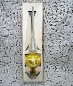 Vintage Shiny Brite Mercury Glass Tree Topper by FlintCreekVintage Christmas Tree Star, Silver Tops, Tree Tops, Mercury Glass, Etsy, Vintage, Design, Vintage Comics, Primitive