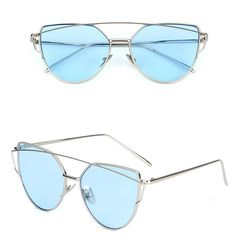 67e094f1c04d Lunette femme Pink Cat Eye Sunglasses Women Or Man Luxury Brand 2017  Popular Cateye Sun Glasses Female Metal Mirror Shades UV400