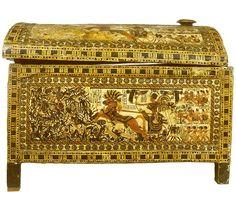 Chest with Miniature Panoramas IVORY  WOOD18TH DYNASTY The Battle of Kadesh (also Qadesh) took place between the forces of the Egyptian Empire under Ramesses II and the Hittite Empire under Muwatalli II at the city of Qaddesh on the Orontes River, in what is now the Syrian Arab Republic.