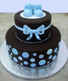 baby shower cake. It turns out she is having a boy...I been planning for a girl...