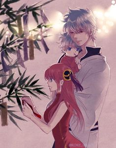 Image about couple in Anime/Fanart by AsahinaYuki Manga Drawing, Manga Art, Manga Anime, Anime Art, Gintama Wallpaper, Cute Couple Drawings, Otaku Issues, Friend Anime, Anime Family