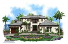 Beach House Floor Plan | Galleon Home Plan by Weber Design Group