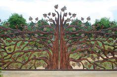 Artesano Iron Works beautiful custom hand forged gates
