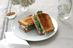 Lunchtime Solved With This Delicious Green Sammy #Refinery29