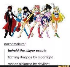 Sailor Moon x Fairy Tail