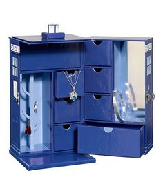 Doctor Who TARDIS Jewelry Box #zulily #zulilyfinds