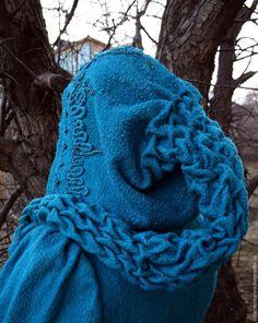 """""""Эльфийская сказка"""": валяем капюшон с косами - Ярмарка Мастеров - ручная работа, handmade"""