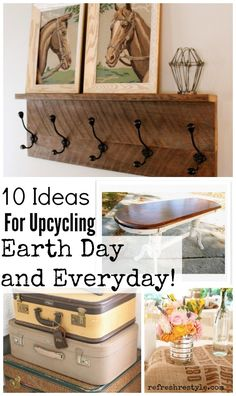 Up-cycle, refresh, recycle #repurpose #reuse #recycle #refresh