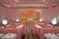 El mundo rosa y lleno de arte del restaurante Sketch · A pink restaurant filled with art in London
