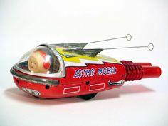 Vintage Japanese tin toy