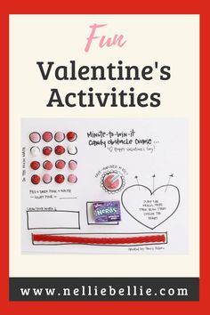 More than 14 Valentine's Day activities for kids Great for those Valentine's classroom parties or just to have fun as a family. #Partyactivities #Valentines #Games