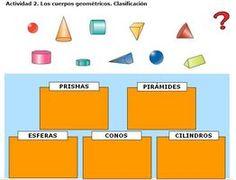 ES RACÓ DES PT - EL RINCÓN DEL PT: Cossos geomètrics amb volum: activitats interactives primer cicle