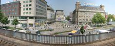 Essen/Germany Willi Brandt-Platz