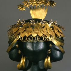 Artifacts of the Royal Cemetery of Ur: Headdress of Queen Puabi
