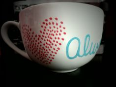 Love Always coffee mug  $15.00 check out Asmart Designs on Etsy