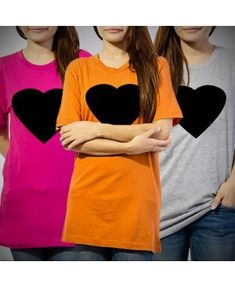 Pack of 3 - Black Heart T-shirt for Women Online in Pakistan Deal Today, Black Heart, Pakistan, Online Shopping, Delivery, Vogue, T Shirts For Women, Sweatshirts, Sweaters