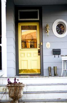 Yellow Door - Colorful Front Doors