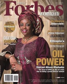 Nigerian women are simply beautiful. Recall that some months back, the Nigerian billionaire business woman, Mrs. Folorunso Alakija was a cover girl for Forbes Mag. It is therefore not surprising that the current Nigerian Minister of Petroleum resources, Mrs. Diezani Alison-Madueke … Continue reading →