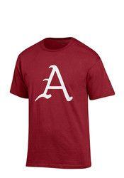 Arkansas Mens Red Big Logo Tee