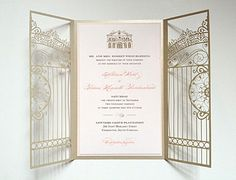 Laser Cut Invitation from my best friend& wedding! Disney Wedding Invitations, Wedding Invitation Cards, Wedding Cards, Invites, Laser Cut Invitation, Inexpensive Wedding Venues, Friend Wedding, Wedding Planner, Dream Wedding