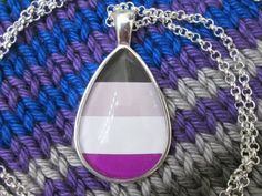 Hey, I found this really awesome Etsy listing at https://www.etsy.com/listing/216363668/asexuality-pride-ace-pride-flag-pendant