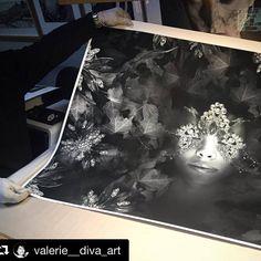 """Imprimiendo ya vuestros trabajos con Moab by Legion Paper. En esta ocasión """"The perfect Love"""" de Diva-art. Impresión #fineart #giclée en #Moab #EntradaRag Natural 290gsm. #art #artistic #limitededition #moabentradanatural"""