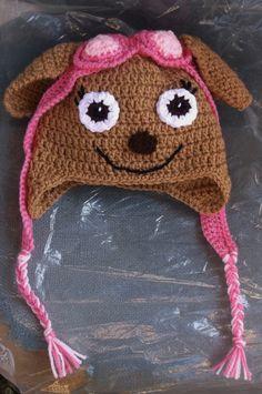 Crochet Paw Patrol Hat ~ No pattern