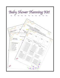 baby shower planner pdf