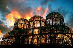 glass & sunset