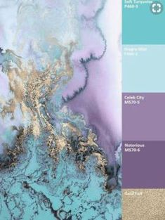 Stunning Turquoise Room Ideas to Freshen Up Your Home There are many ways to transform your ordinary room into a more breathtaking oneInformations About Atemberaubende türkisfarbene Raumideen, um Ihr Zuhause aufzufrischen - Wohnaccessoires Bl Colour Pallette, Colour Schemes, Color Combos, Purple Color Palettes, Turquoise Color Schemes, Turquoise Paint Colors, Paint Combinations, Purple Palette, Gold Color Scheme