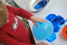 Balloon and Cork Painting | Familylicious Reviews and Giveaways