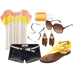 """""""bright colors <3"""" by louwho18 on Polyvore"""