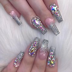 Luxury nail fairytale design//