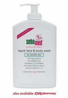 sebamed liquid face & body wash.  the best!!