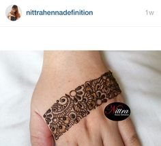Follow @nitrahennadefinition on Instagram!!!! She's awesome!